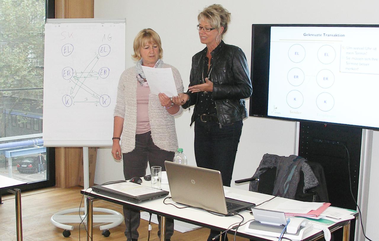 Transaktionsanalyse Seminar Kommunikation Gespraechsfuehrung Konfliktmanagement Stuttgart Training