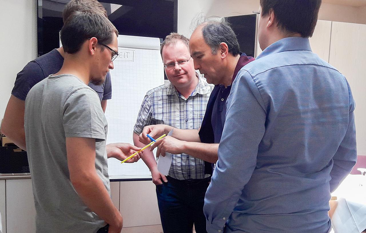 Teamentwicklung Seminar Zusammenarbeit Reflexion Stuttgart