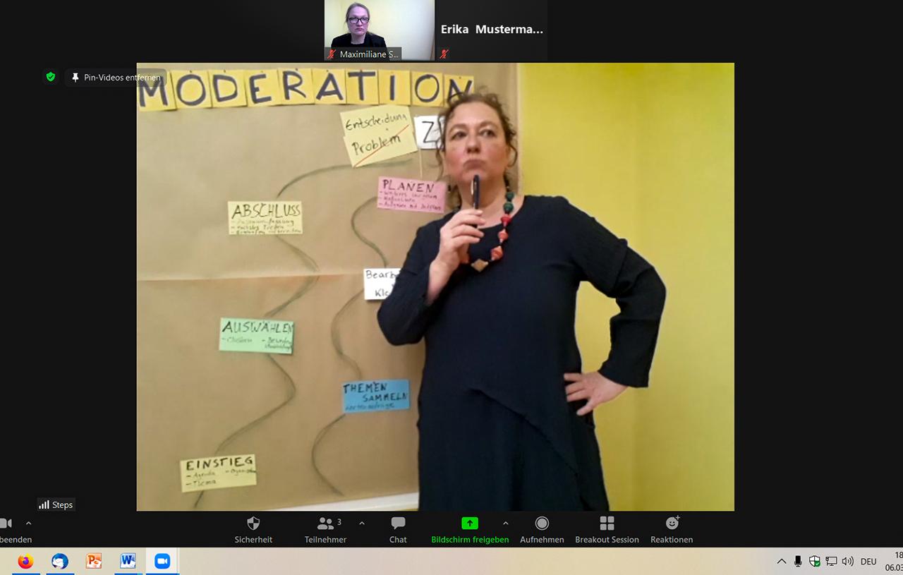 Moderation Moderator Online Stuttgart Kettler Prozessbegleitung Workshop